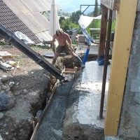 Mazot béton fondations