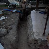 Mazot fouilles avants
